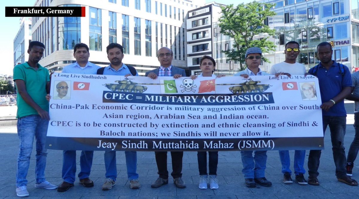 Sindhi Independence movement JSMM protests CPEC amid state crackdown